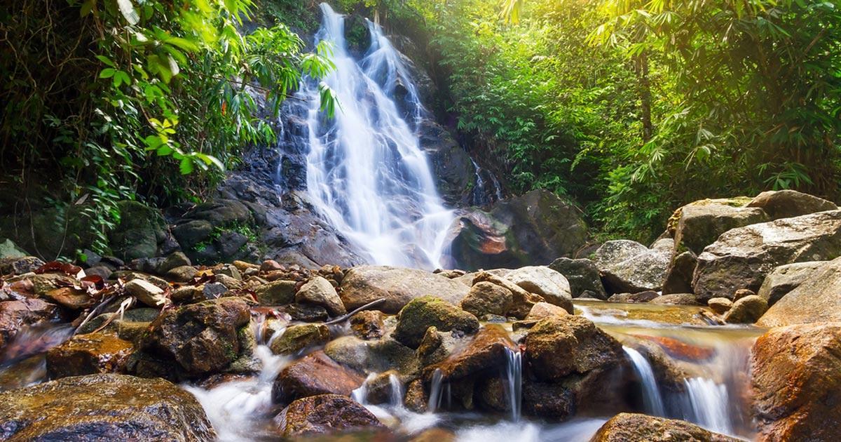 น้ำตกสายรุ้ง-คลองสังเน่ห์ ตะกั่วป่า-phuketroyaltravelandtransport.
